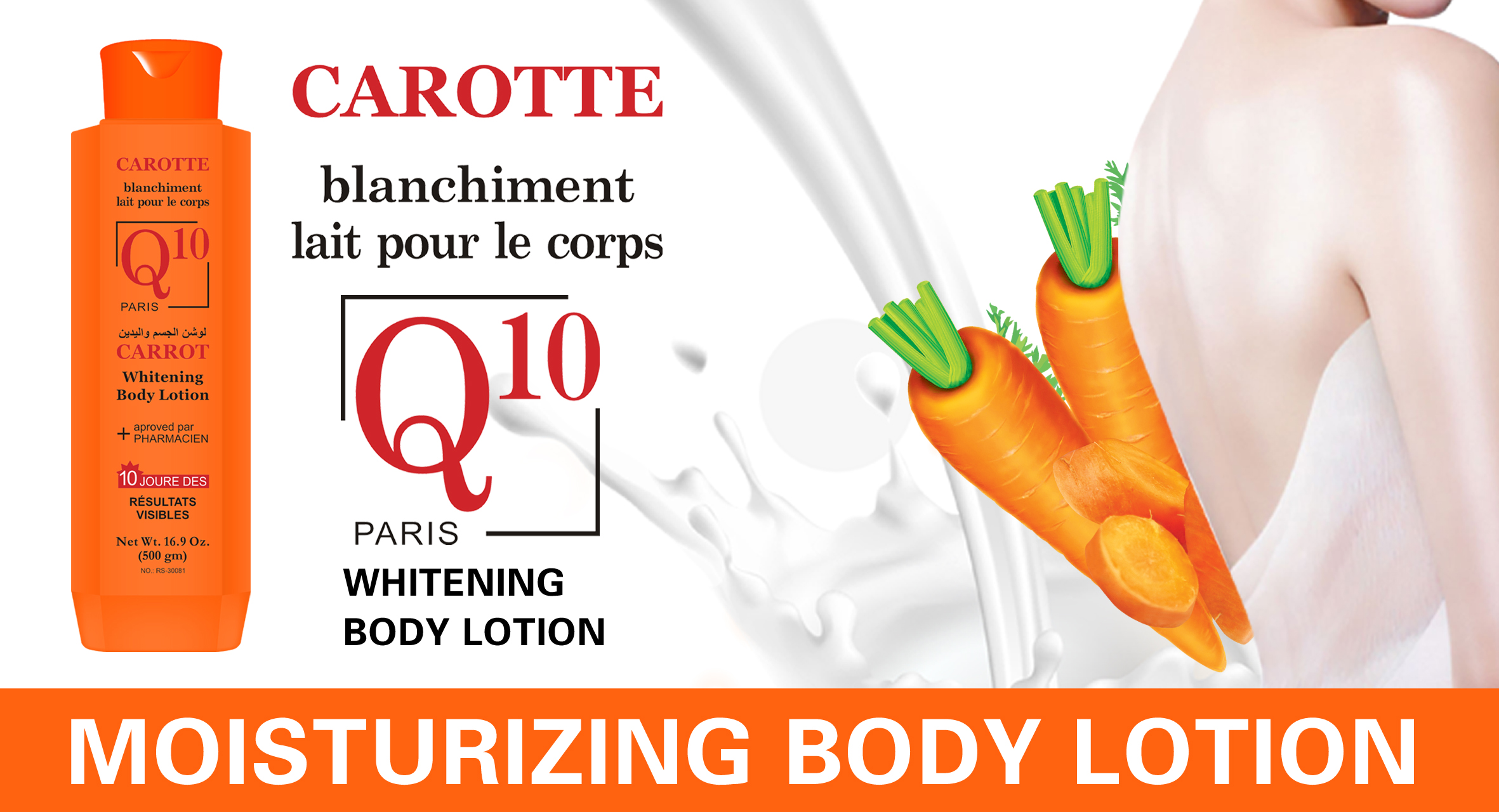 Moisture Professional 3in1 Whitening Body Lotion