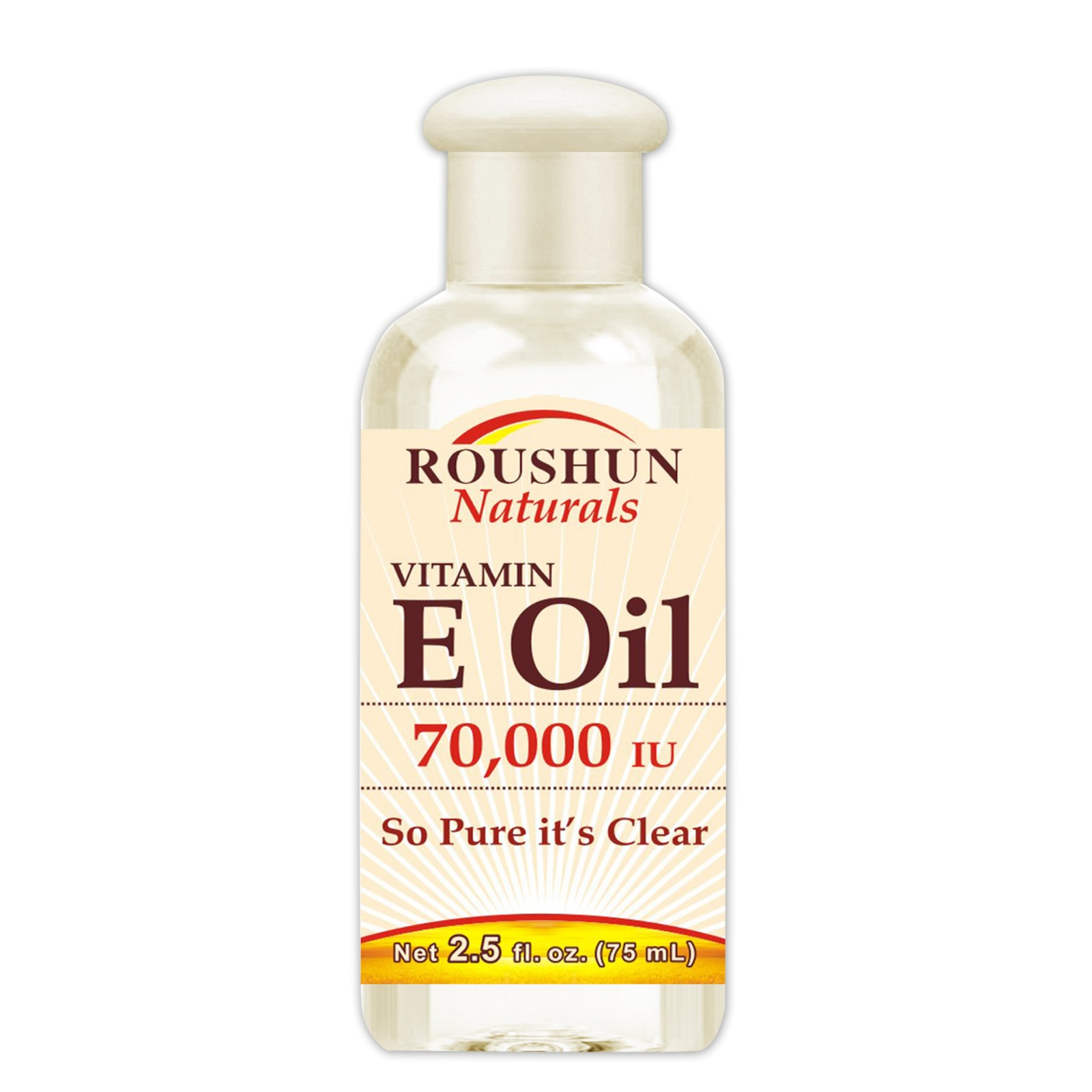 Roushun brand quality vitamin E oil moisturizing nourishing