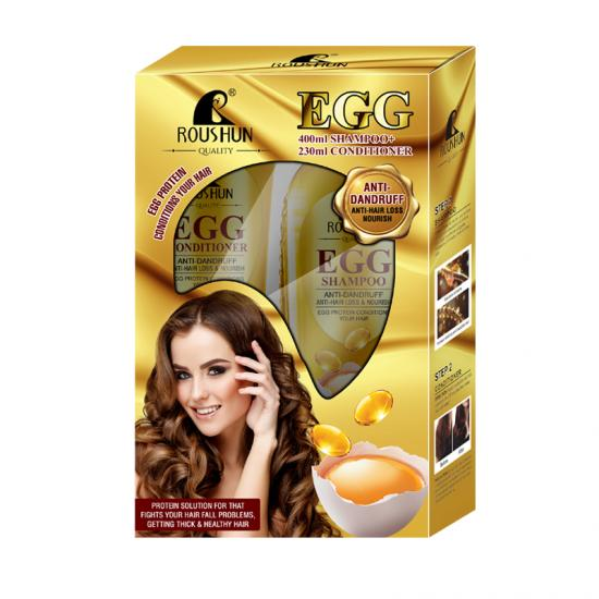 Egg Shampoo and Hair conditioner