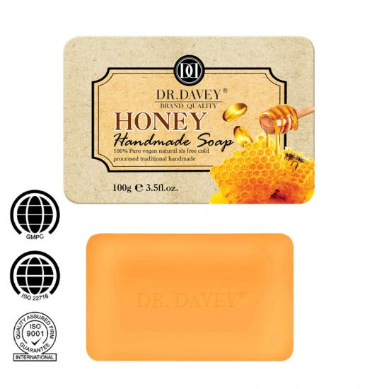 honey handmade face soap