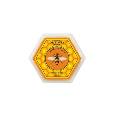 hexagon high quality beauty honey whitening soap