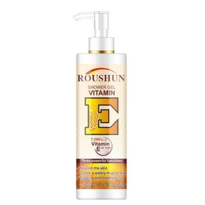 vitamin E nourish moisturizing body wash whitening
