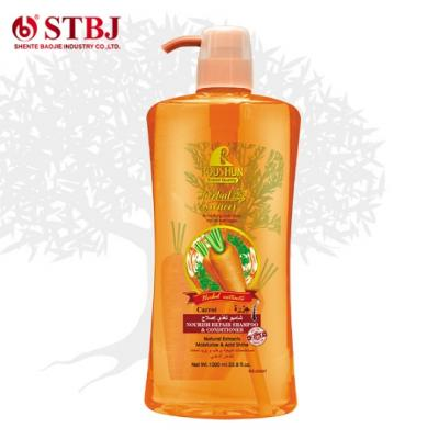 Roushun Natural Herbal Carrot Shampoo & Conditioner .